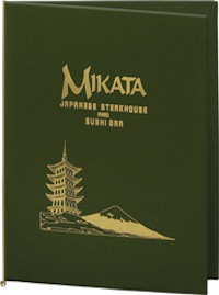Traditional Menu Covers