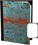 Patina Copper Menu Covers 8.5 X 14
