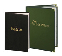 Semi-Rigid Menu Covers